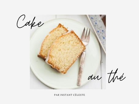 Recette du cake infusé au thé