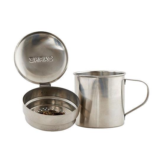 Mug métal avec infuseur