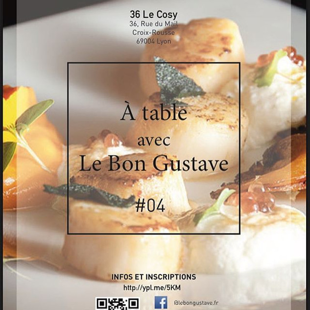 36 Le Cosy et Le Bon Gustave organise un