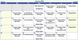 Sophs Master Schedule - Jan