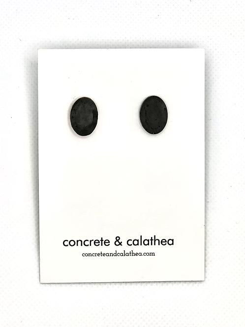 Concrete gemstones