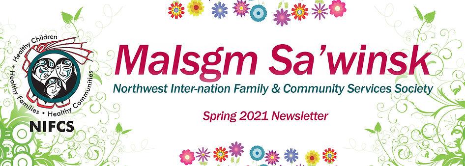 Newsletter Masthead 1920 - Spring 2021 E