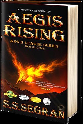 Aegis Rising, Science Fiction Action Adventure
