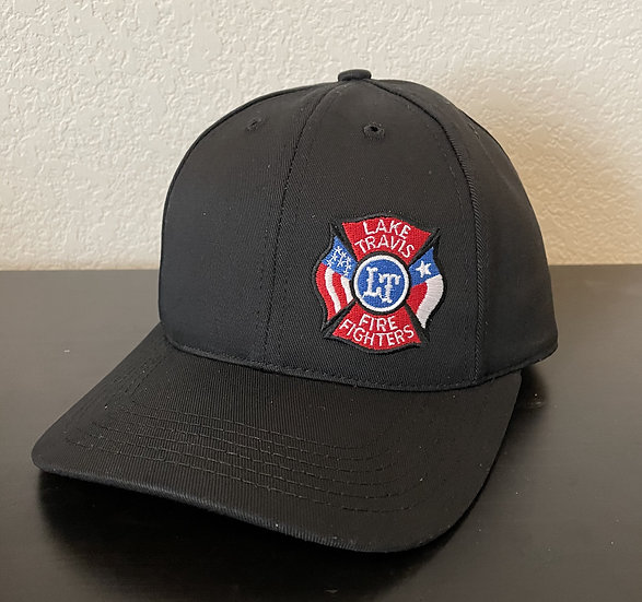 NEW LT Firefighters Fitted Hat, Black