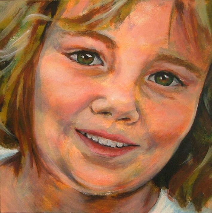 'Gentle' Rose Portrait