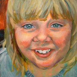 'Outgoing' Rose Portrait