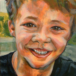 'Boyish' Rose Portrait