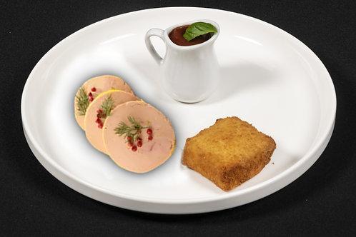 Boite de croquettes foie gras et volaille 2X80g