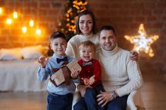 идеи новогодней фотосессии +с ребенком