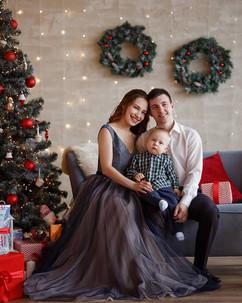 новогодняя фотосессия +с малышом