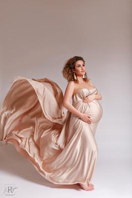 фотосессия беременных в студии идеи