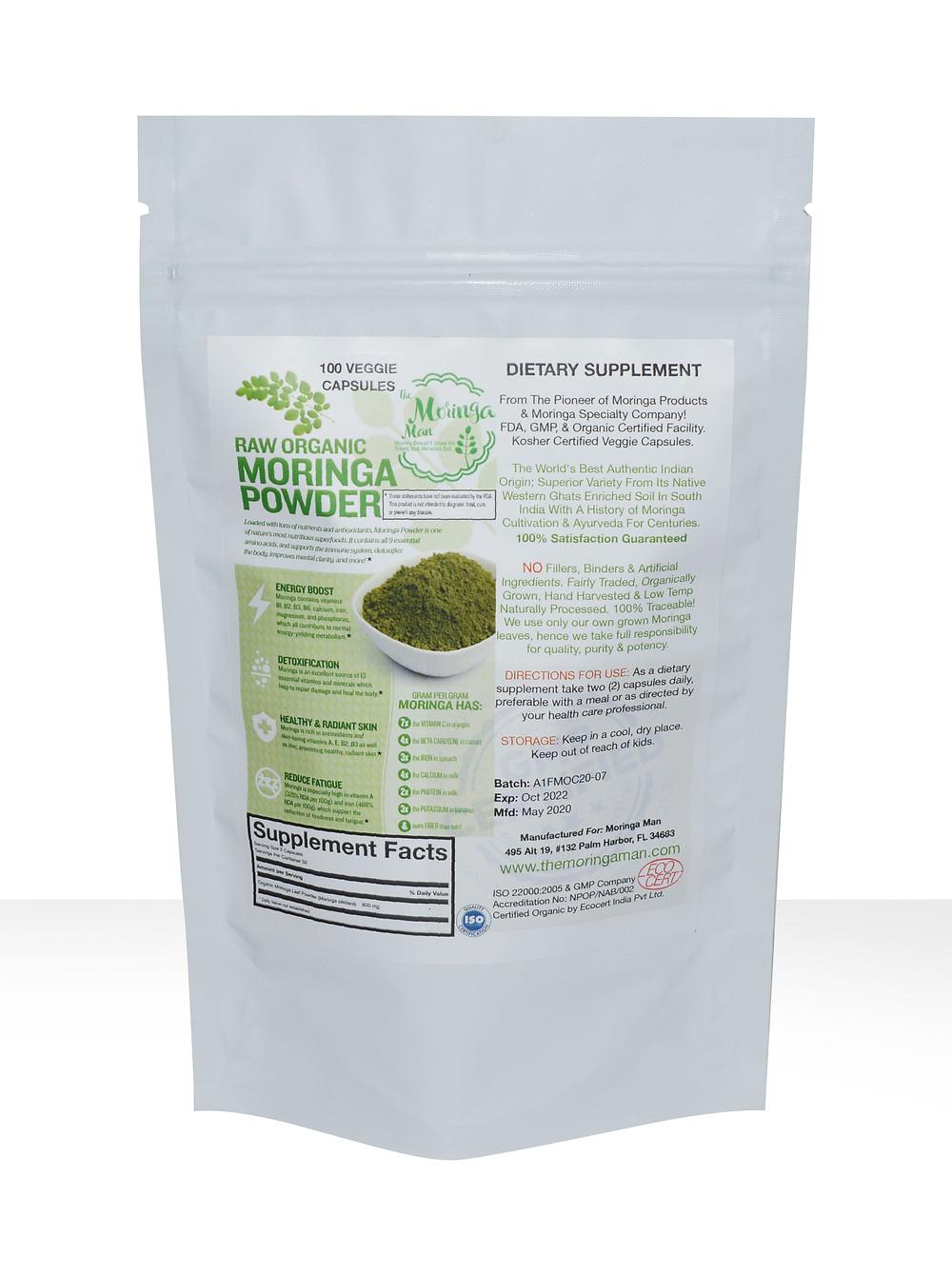 Moringa Capsule Benefits