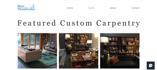 Brief: Develop website + logo for growing carpentry business, Bear Woodworks.