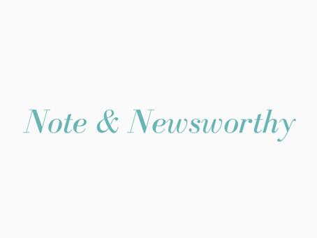 CPN's Note & Newsworthy - Vol. 8