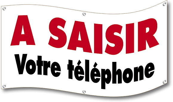 Banderole A Saisir