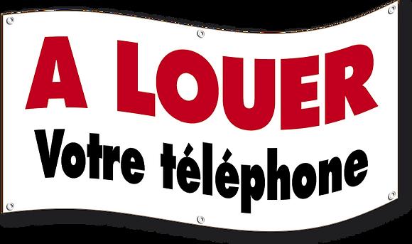 Banderole A Louer