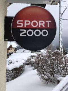 Des enseignes pour SPORT 2000