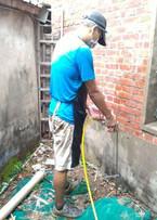 白蟻土壤灌注防護帶