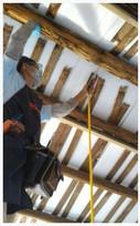白蟻屋樑高壓灌注