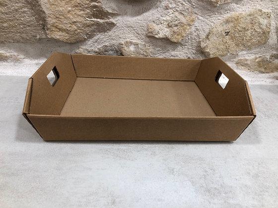 Panière rectangulaire carton