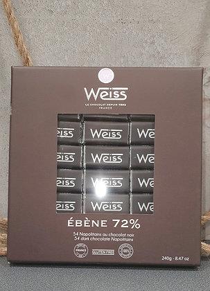 Napolitain Weiss ébène 240gr
