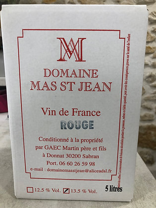 Mas Saint Jean Vin de France Rouge