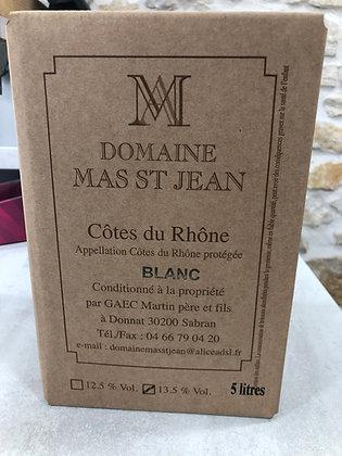 Mas Saint Jean Côtes du Rhône Blanc