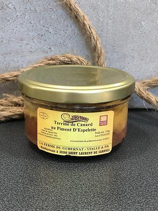 Terrine de Canard au Piment d'Espelette La Ferme du Gubernat
