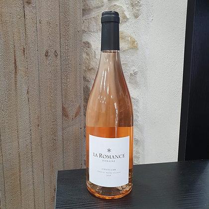 Domaine La Romance Côtes du Rhône Villages Chusclan Rosé