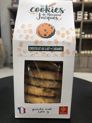 Cookies Chocolat au lait-Caramel