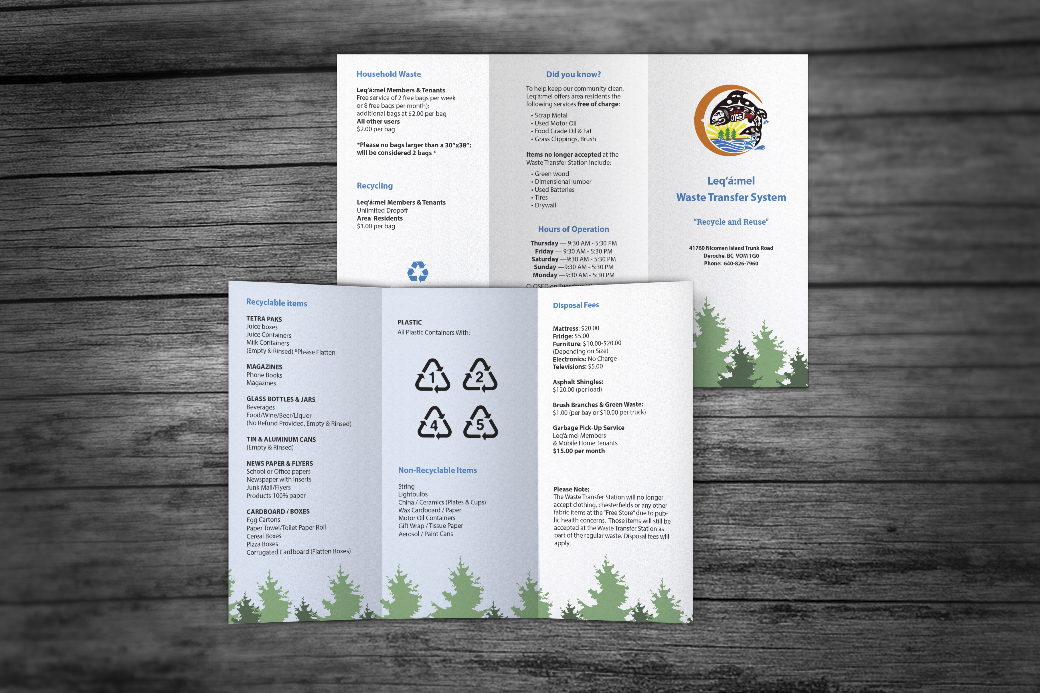 Leq'a':mel First Nation Brochure