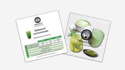 Iced Lemonade Recipe Card