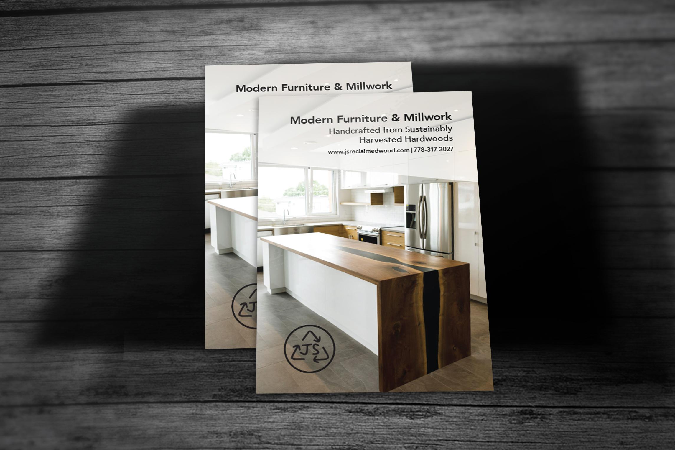 J&S Customer Furniture Postcard