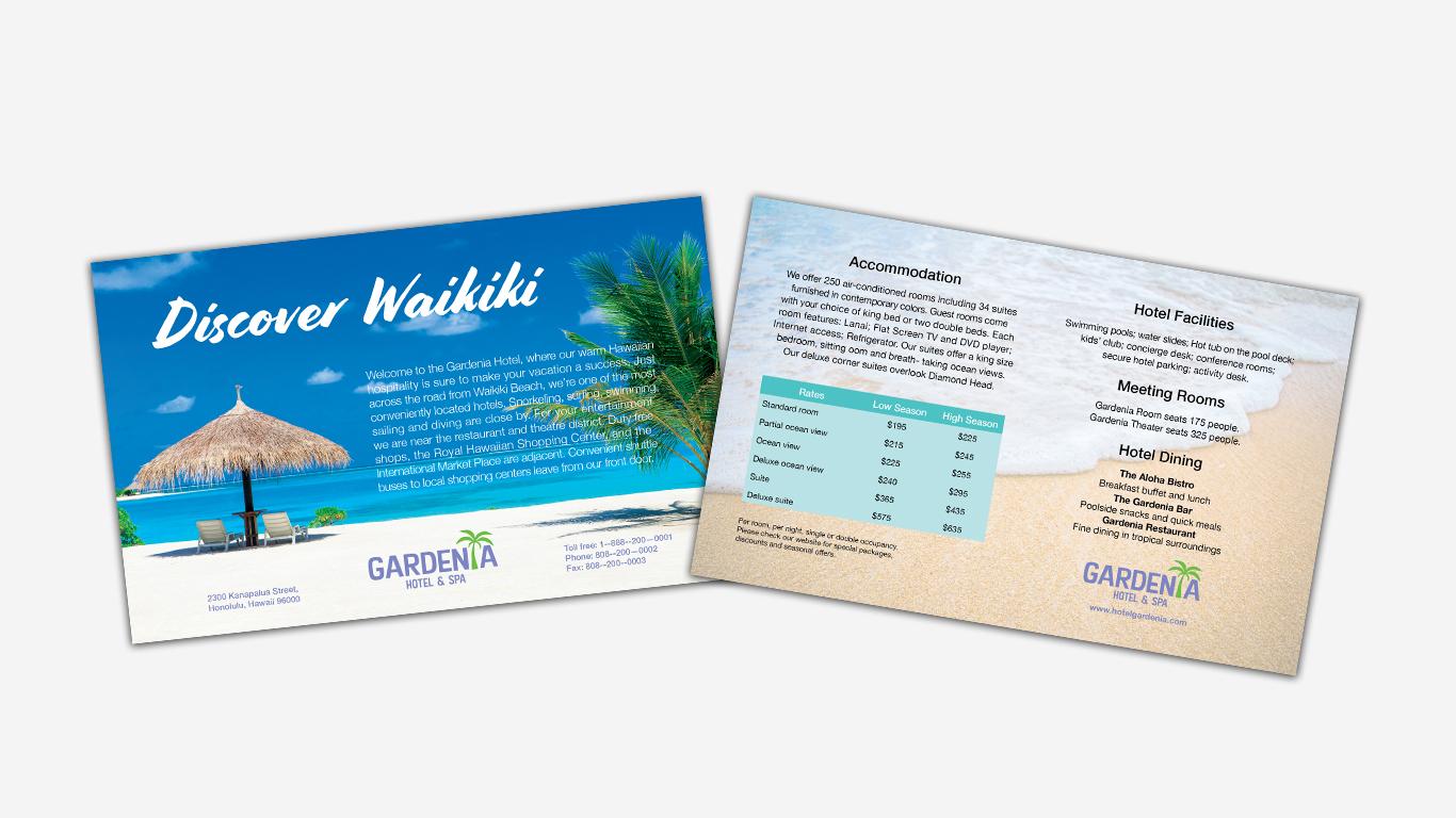 Discover Waikiki Insert