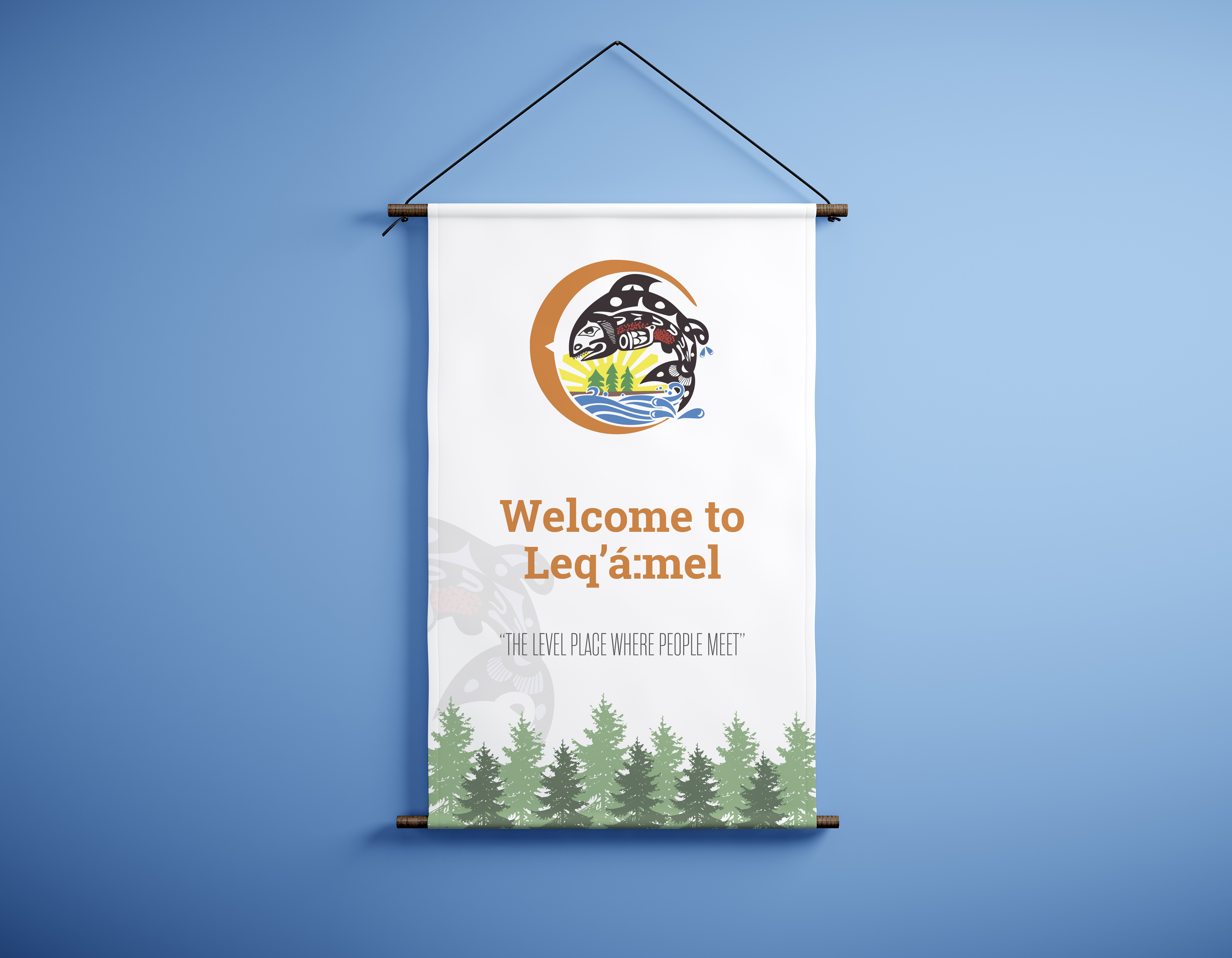 Leq'a':mel First Nation Banners