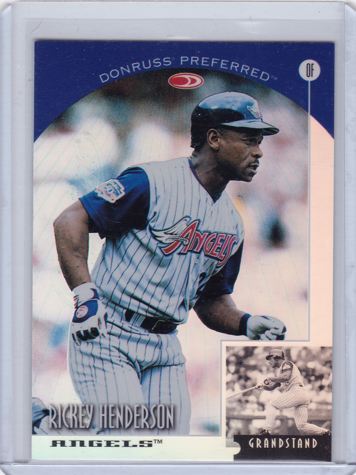 1998 Donruss Collections Preferred Prized Rickey Henderson