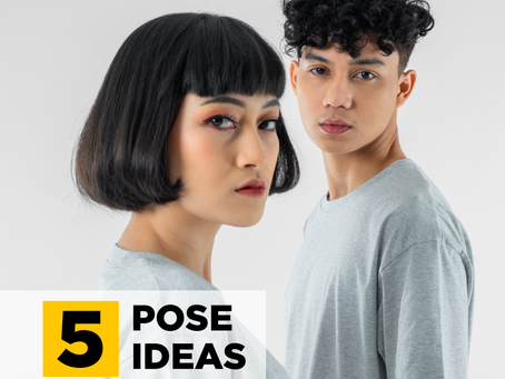 5 POSE IDEAS