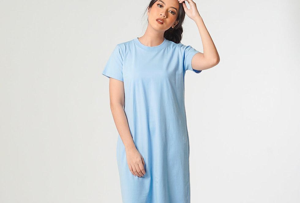 Short Sleeve Dress Combed Spandek