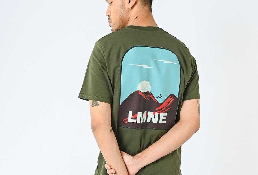 LMNE Mountain - Short Sleeve Combed Spandek Unisex