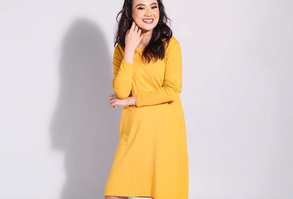 Long Sleeve Dress Suparon Spandek