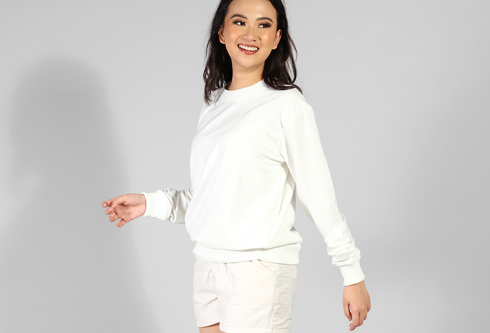 Sweater Basic Truterry Spandek Unisex