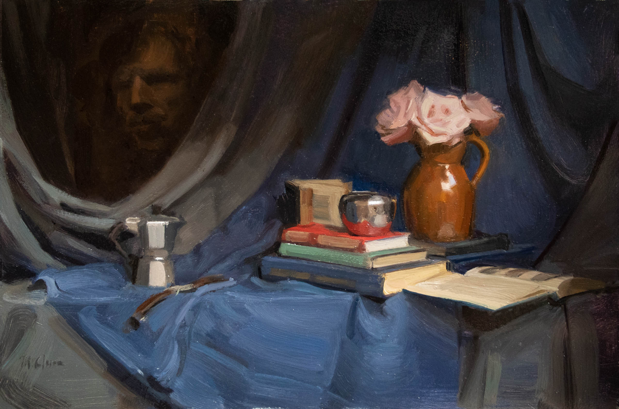 Still Life with Apparition 61x92