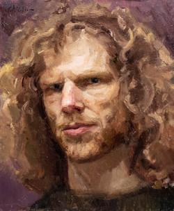 Self-portrait 40x30
