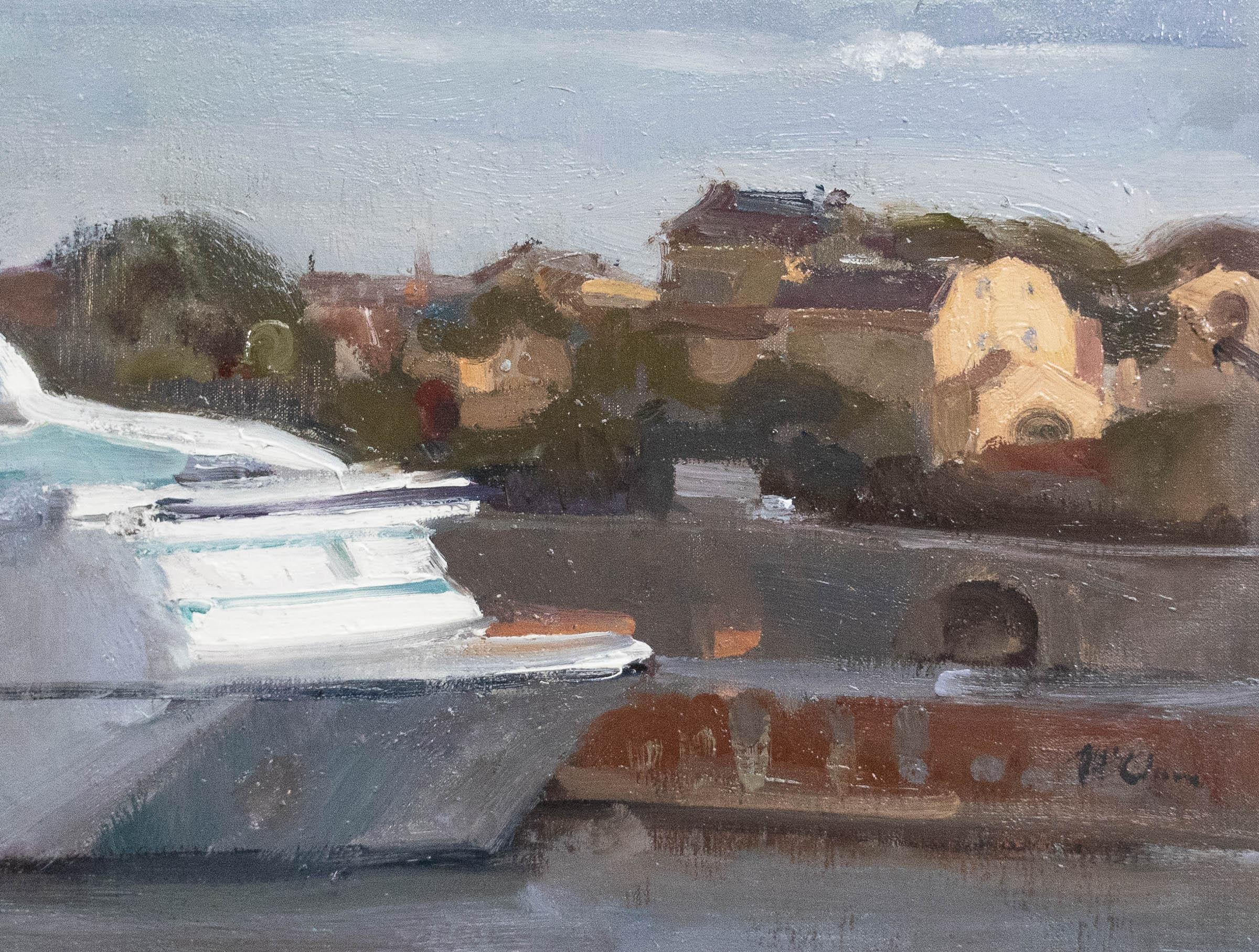Stockholm Harbour 34x45