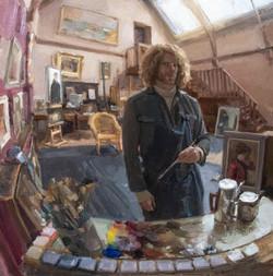 Borrowing the Studio, Broughton House 61
