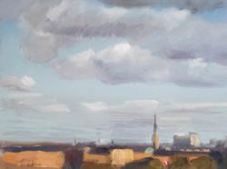 Stockholm Cloudscape 27x35