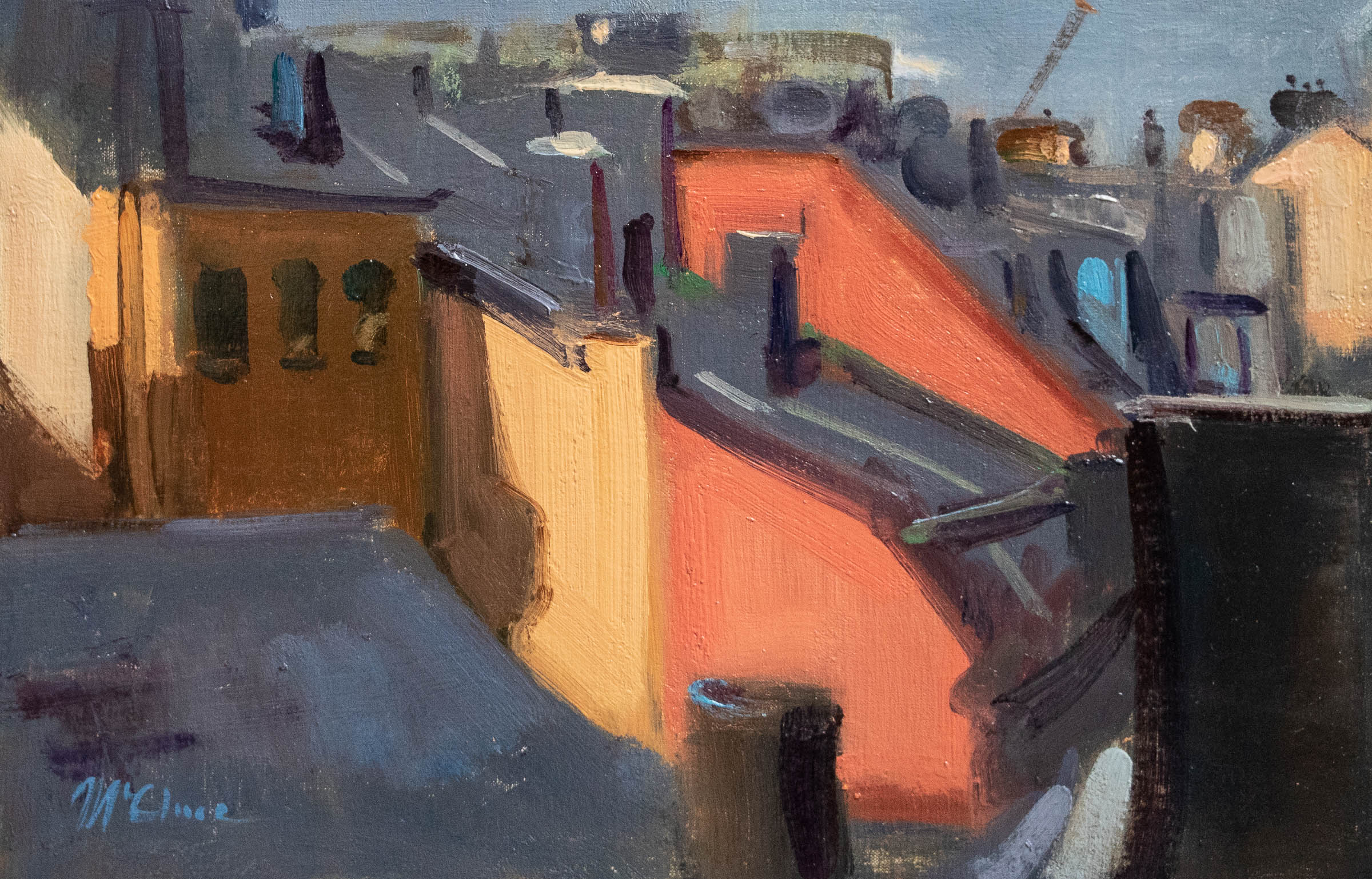 Up on the Roof 35x54