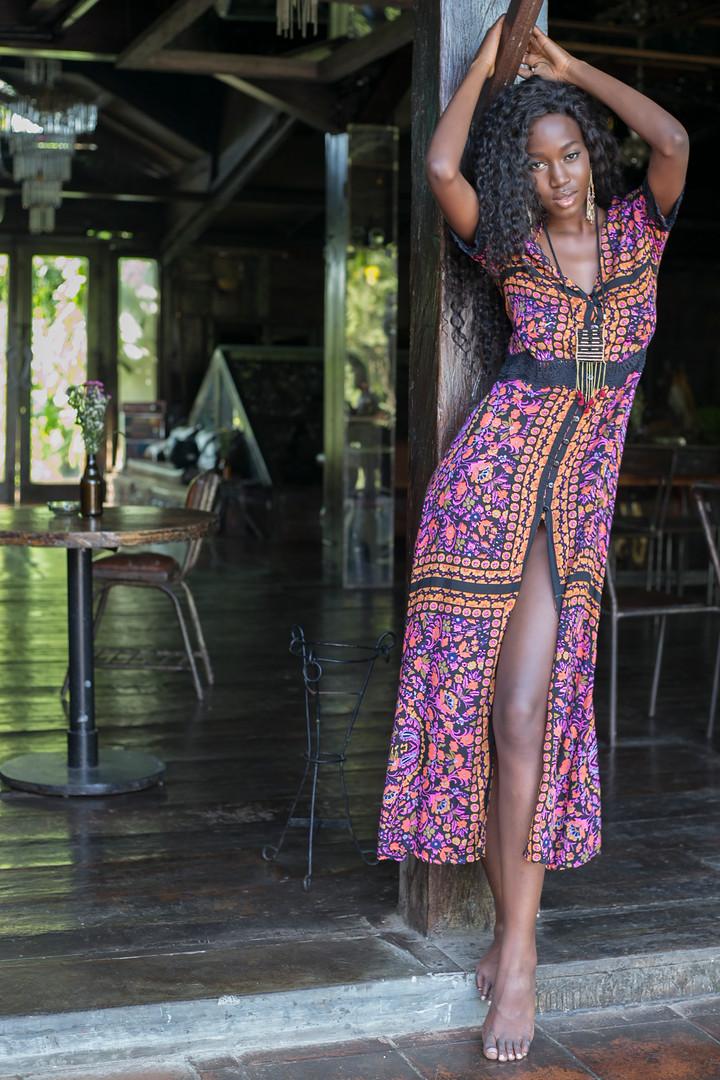 Long Dress Rosie Krawang