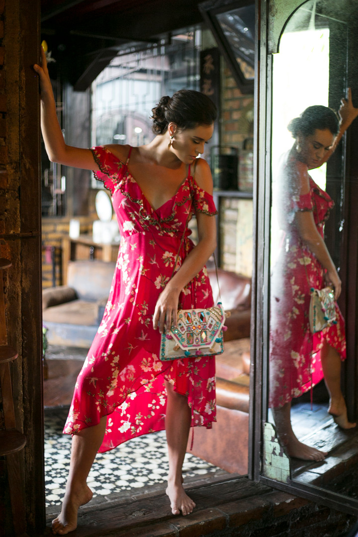 3/4 Dress Krawang Chinese
