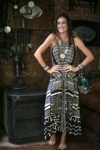 Long Dress Vietnam African